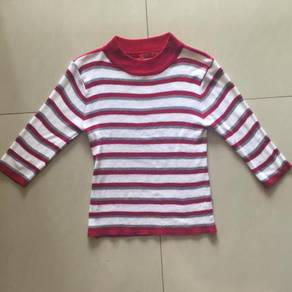 Red Stripe Long Sleeve T-shirt