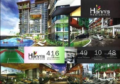 Sibu Hann's Residence Condominium Level 16 For SALE!