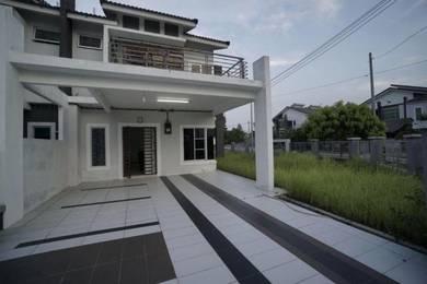 MURAH - NEGO - Corner Lot 2 Stry Terrace House Nusari Aman 2, Sendayan