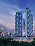 New condominium with Sky bridge 300k setapak