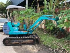 Reconditioned kubota k020 mini excavator japan