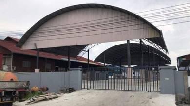 4 empty unit warehouse, Tudan miri