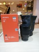 Sony fe 12-24mm f4 g lens - 1 month old only