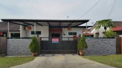 [FULLY FURNISHED & RENOVATED] Single Storey Semi D in Taman Delima