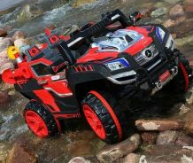 Kids sand eletrcik jeep red