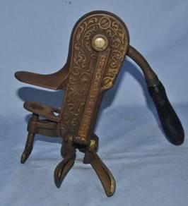 Antique large champion corkscrew / puller