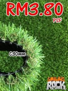 SALE Artificial Grass / Rumput Tiruan C30mm 81