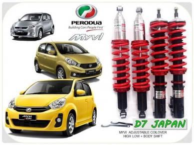 Myvi se D7 JAPAN Adjustable High Low Body Shift 2