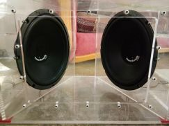 Woofer and power amplifier 2 channel