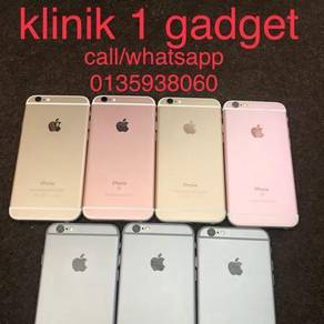 6S 64gb fullset box iphone
