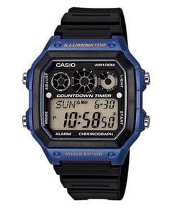 Watch- Casio Chronograph AE1300-2A -ORIGINAL