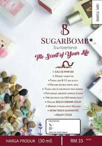 Sugarbomb inspired eu deu parfum