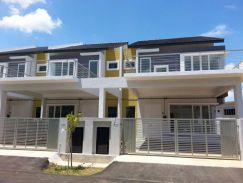 2 Storey Corner Lot House at 1 Krubong - Gated and Guarded