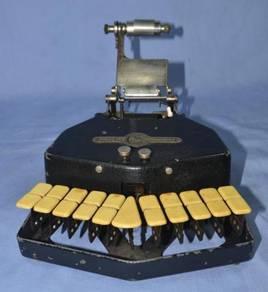 Antique grandjean france stenotype machine