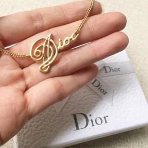 Original dior necklace / jewellery / rantai