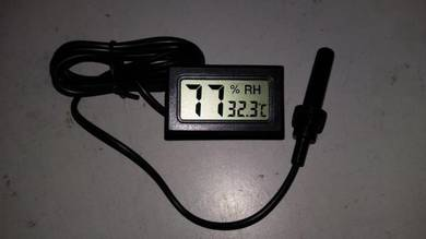 Hygrometer Thermometer with External Sensor