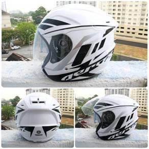 Helmet double visor ori thailand