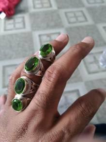 Cincin silver 925 hijau