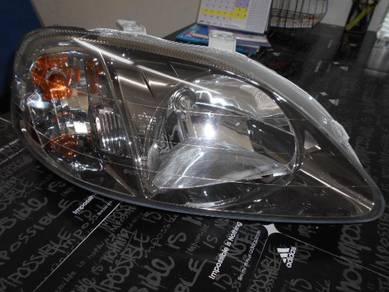 Honda ek3 virs ek4 ek9 type R head lamp titanium