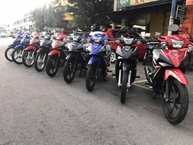 Honda Alpha 110SR (PROMOSI RM 1) Senang Lulus