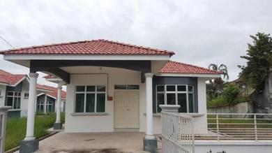 Corner Lot Single Storey Bungalow - NEW (Taman Mengkuang Heights)