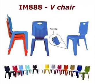 V888 Plastik Chair Restaurant Pantry Chair