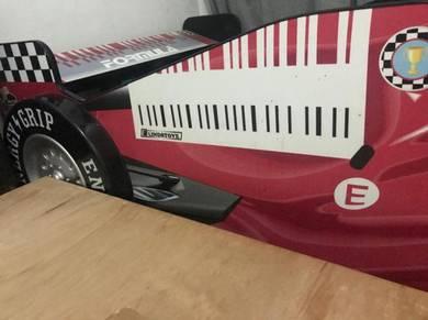 F1 bed for kids / katil kereta f1