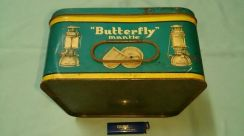 Vintage BUTTERFLY mantle box