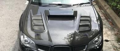 Varis JP CF Bonnet Trunk Fender Subaru Impreza V9
