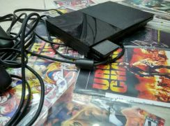 Ps.2 with 20 cd games and memory card