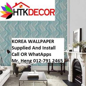 Pretty Wallcovering with Installation jh870896