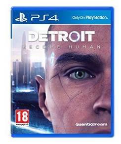PS4 Detriot Becoming Human