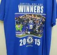 Chelsea Capital One Cup Winners 2015 T-Shirt