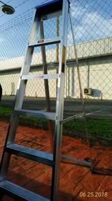 6 steps single sided ladder