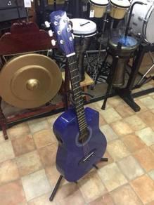Semi Acoustic Guitar (Dark Blue)