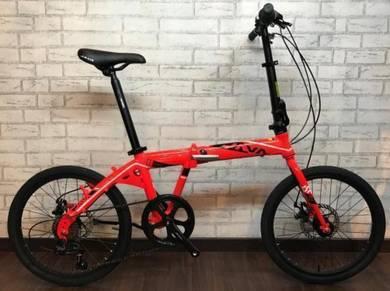 2018 JAVA ITALY TT 7sp folding bike bicycle 12KG