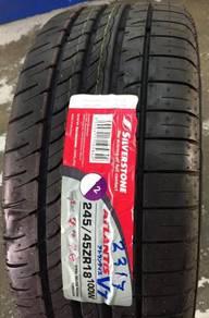 Tayar Baru Mercedes CLK Silverstone Size 245 45 18