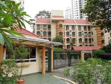 City Gardens condo, Bukit Ceylon, bukit bintang (MRT station)
