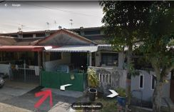 Single storey house for sale at Bercham