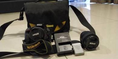 D5300 Kit Len + AFS 50mm 1.8G Len