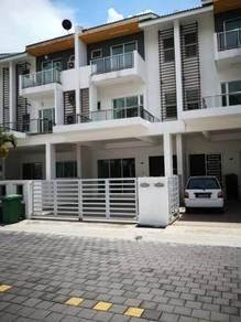 Three story terrace carissa villa gated guide raja uda bagan lallang