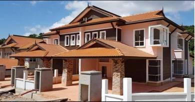 Double Storey Semi D Desa Rose Residency In Senawang