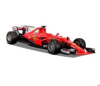 2017 Ferrari F1 1:43 Diecast car toy 11.5cm