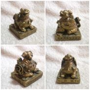 Vintage Chinese Fu Dogs or Guardian Lion