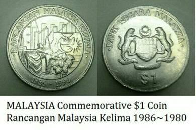 Rancangan Malaysia Kelima 1986~1980.