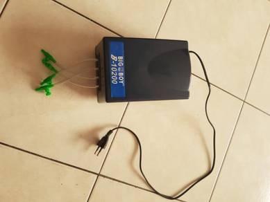Air pump & blue box filter
