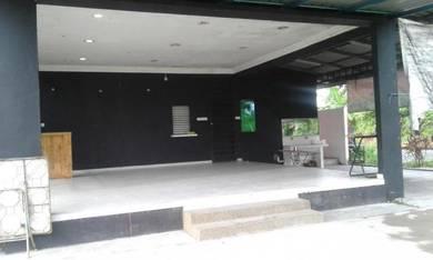 Kedai makan l/d bilik rehat, tandas & setor di Bandar Tanah Merah