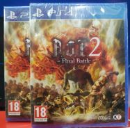 NEW SEALED PS4 Game Attack On TItan 2 Final Battle