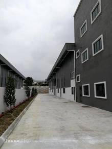 New 3sty Office Cum 1sty warehouse Semi Detached Factory Balakong