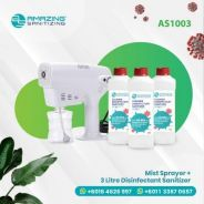 Mist Sprayer + Disinfectant Sanitizer 3 litre